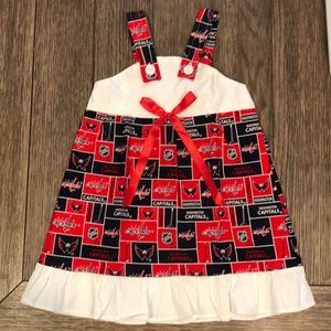 Other - Washington Capitals Baby Girls Toddler Dress Sz 4T